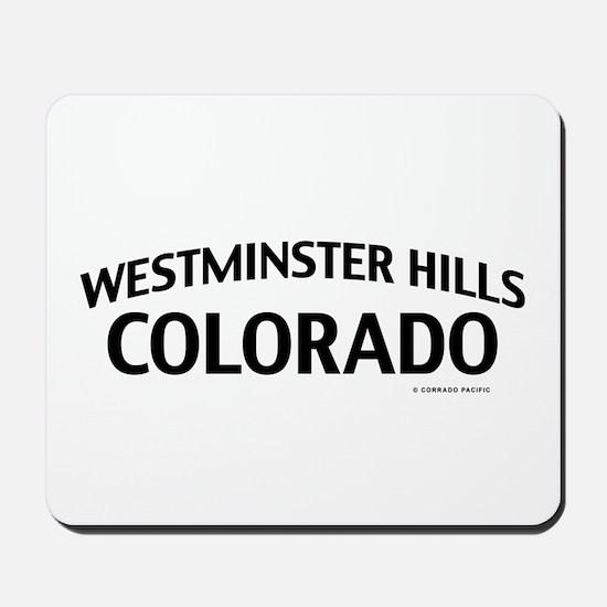 Westminster Hills Colorado Mousepad