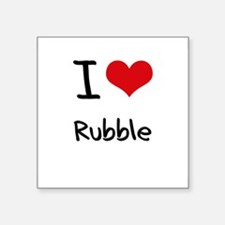 I Love Rubble Sticker