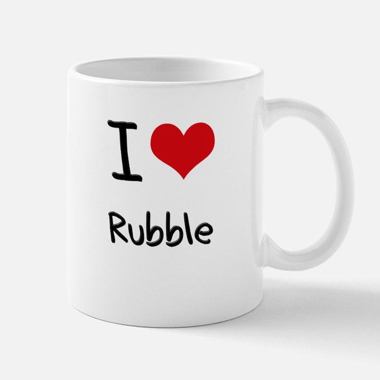I Love Rubble Mug