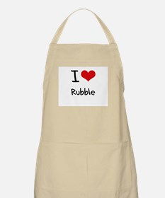 I Love Rubble Apron