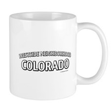 Westside Neighborhood Colorado Small Mug