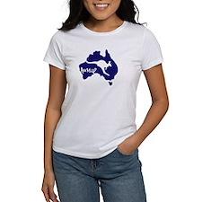 Aussie Roo Women's White T
