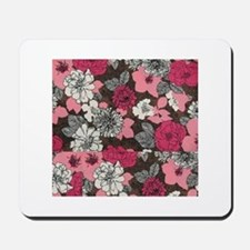 flower collage Mousepad