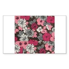 flower collage Decal