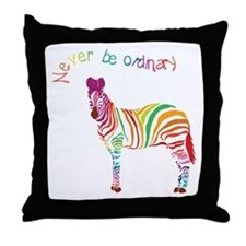 Never Be Ordinary Throw Pillow