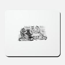 Poker Playing Cats Mousepad
