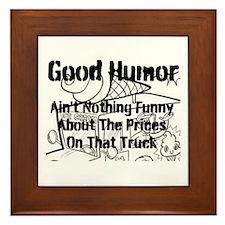 Good Humor Framed Tile