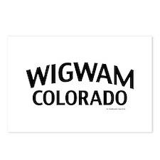 Wigwam Colorado Postcards (Package of 8)