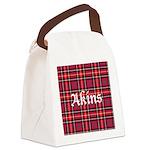 Tartan - Akins Canvas Lunch Bag
