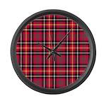 Tartan - Akins Large Wall Clock