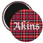 Tartan - Akins Magnet