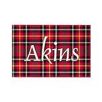 Tartan - Akins Rectangle Magnet (100 pack)