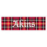 Tartan - Akins Sticker (Bumper 50 pk)