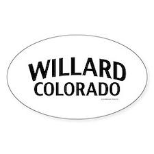 Willard Colorado Decal