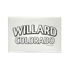 Willard Colorado Rectangle Magnet