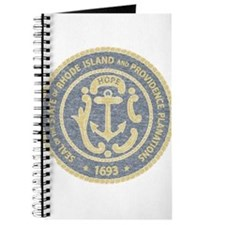 Vintage Rhode Island Seal Journal