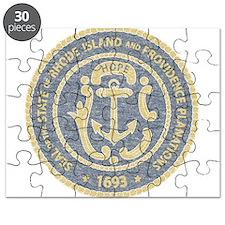 Vintage Rhode Island Seal Puzzle