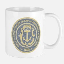 Vintage Rhode Island Seal Mug