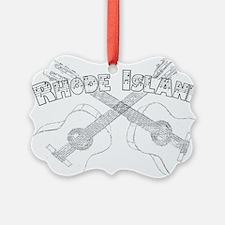 Rhode Island Guitars Ornament