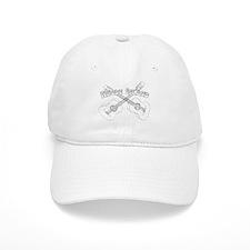 Rhode Island Guitars Baseball Baseball Cap