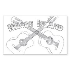 Rhode Island Guitars Decal