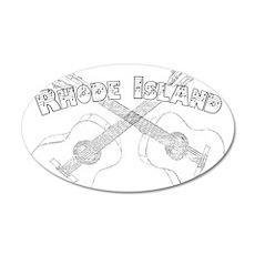 Rhode Island Guitars Wall Decal