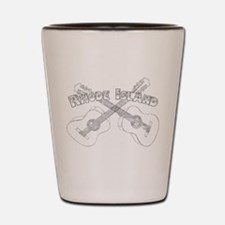 Rhode Island Guitars Shot Glass