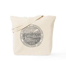 Newport Rhode Island Vintage Seal Tote Bag