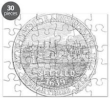 Newport Rhode Island Vintage Seal Puzzle