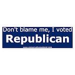 I voted Republican