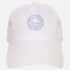 Blue South Dakota State Seal Baseball Baseball Baseball Cap
