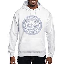 Blue South Dakota State Seal Hoodie