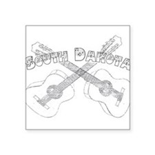 South Dakota Guitars Sticker