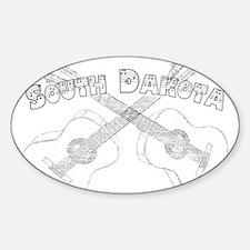 South Dakota Guitars Decal
