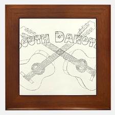 South Dakota Guitars Framed Tile