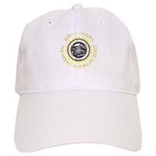 South Dakota Vintage State Flag Baseball Baseball Cap