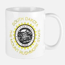 South Dakota Vintage State Flag Mug