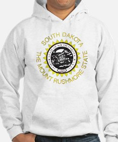 South Dakota Vintage State Flag Hoodie