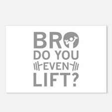 Bro Do You Even Lift? Postcards (Package of 8)