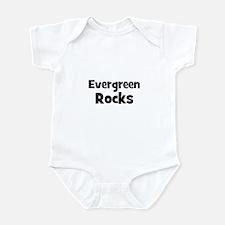 evergreen rocks Infant Bodysuit