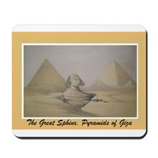 Pyramid of Giza Mousepad
