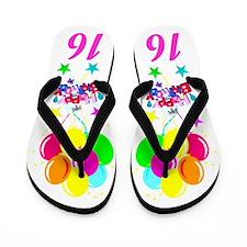 ATTRACTIVE 16TH Flip Flops