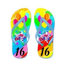 AWESOME 16TH Flip Flops