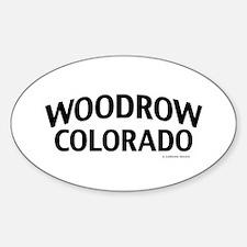 Woodrow Colorado Decal