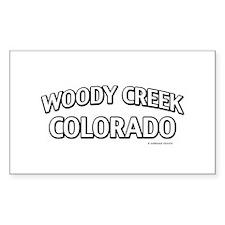 Woody Creek Colorado Decal