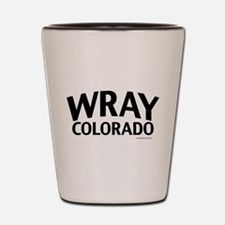 Wray Colorado Shot Glass
