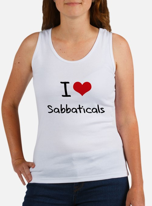 I Love Sabbaticals Tank Top