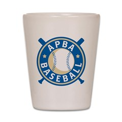 APBA Baseball (New Logo) Shot Glass