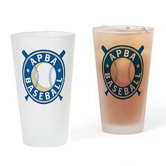 APBA Baseball (New Logo) Drinking Glass