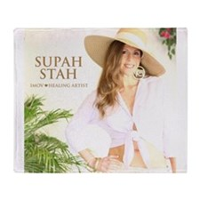 Supah Stah CD Cover Throw Blanket